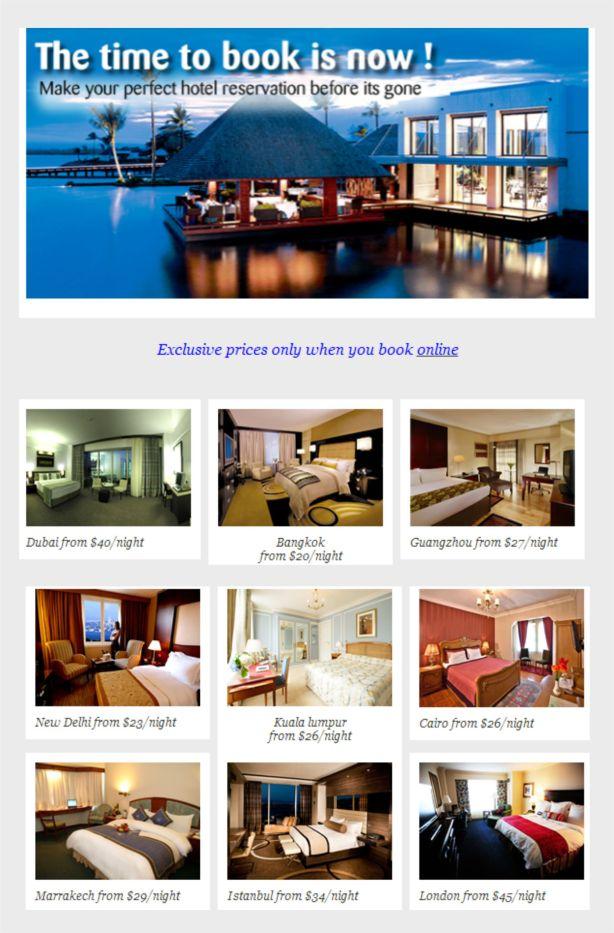 UNBELIEVABLE YET REAL HOTEL DEALS