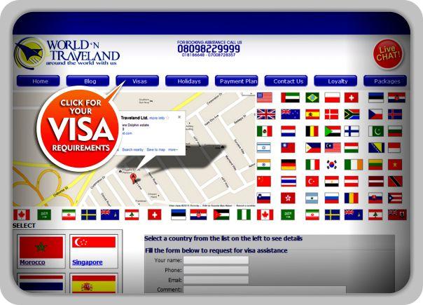 NEED A VISA?