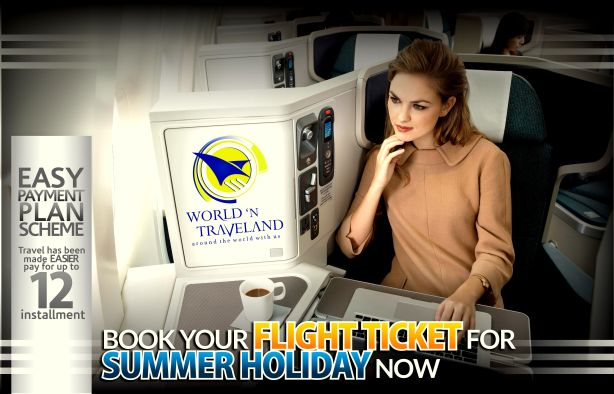BOOK YOUR FLIGHT TICKET FOR SUMMER NOW
