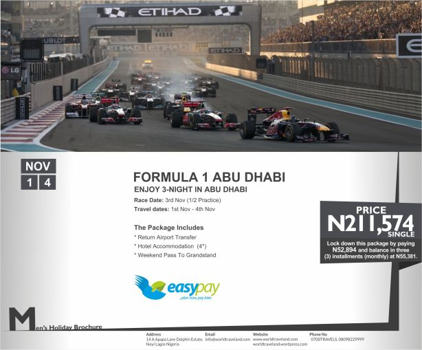 2013 Formula 1 Etihad Airways Abu Dhabi Grand Prix