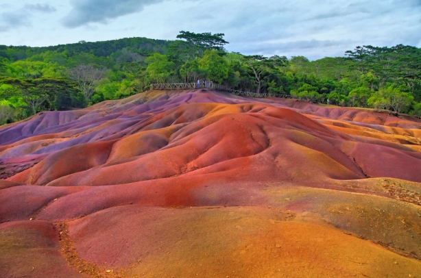 THE SEVEN COLOURED EARTH(S), MAURITIUS  (Tourist attraction in Mauritius)