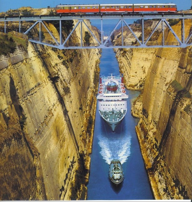 THE TIGHTEST SQUEEZE: CORINTH CANAL, GREECE